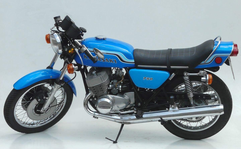 Kawasaki 750 H2 1971 1975 Für Echte Kerle Gemacht