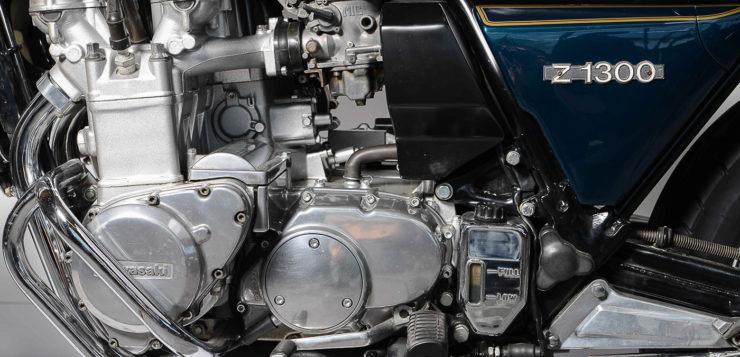 Bis 1984 befeuerten drei Mikunis den Motor