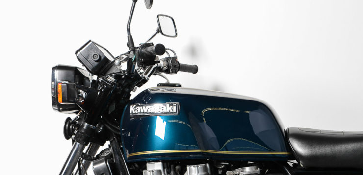 Kawasaki Z 1300 – Wuchtbrumme mit Sixpack