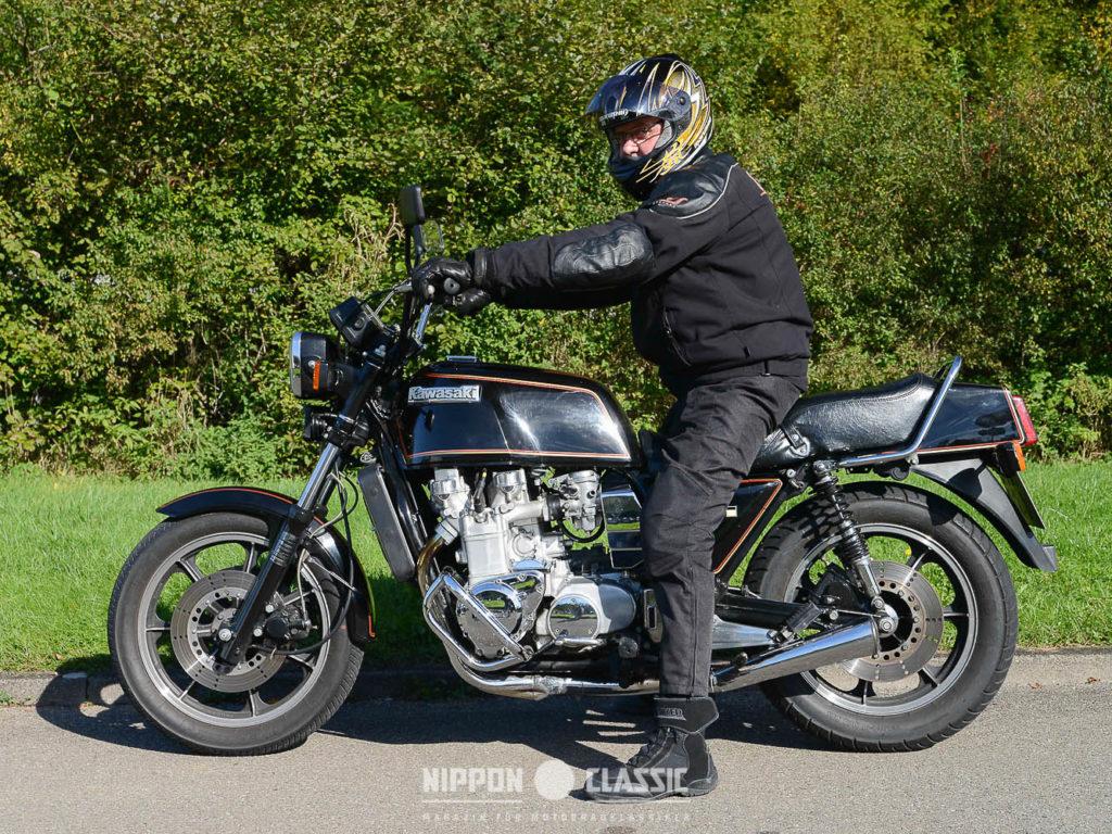 Die Kawasaki Z 1300 stieß Ende der 70er Jahre in neue Dimensionen vor