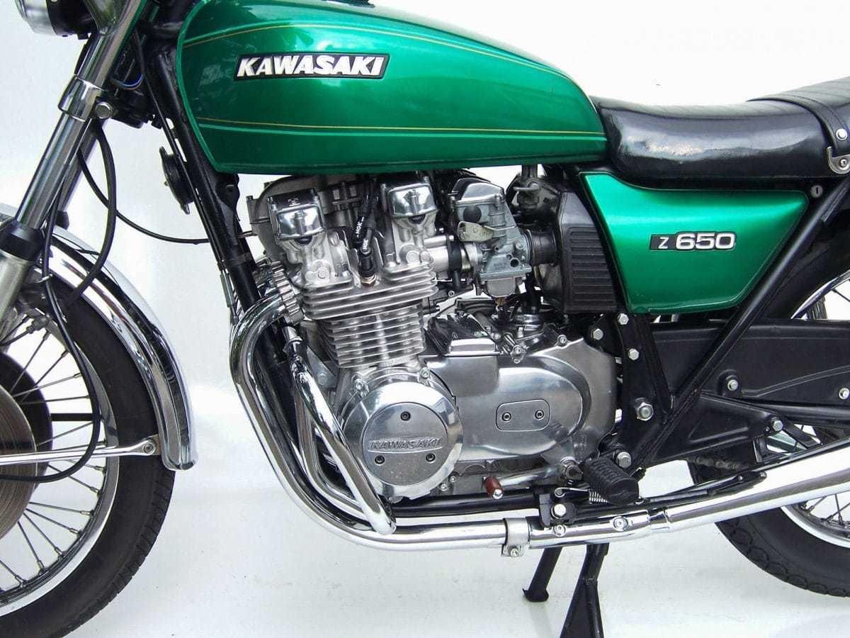 Mit 66 PS Zog Die Z 650 Der 750er Twin Davon Quelle Peter Krauss Club Germany