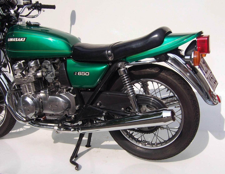 Schone Heckpartie An Der Kawasaki Z 650 B Quelle Peter Krauss Club Germany