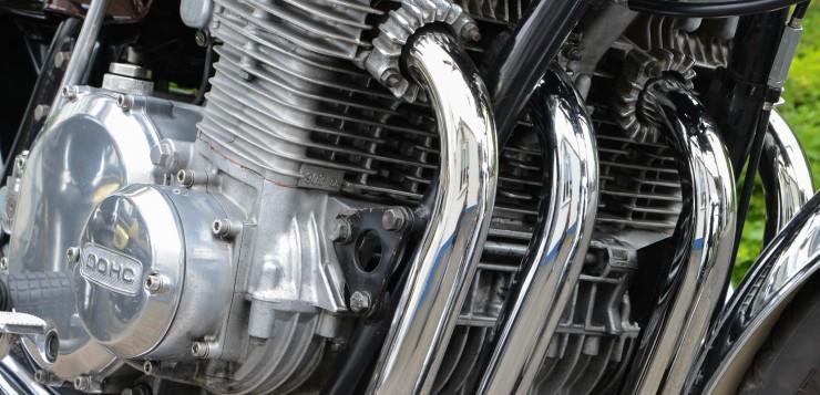 Der DOHC-Motor der Kawasaki Z1 900 leistete 79 PS