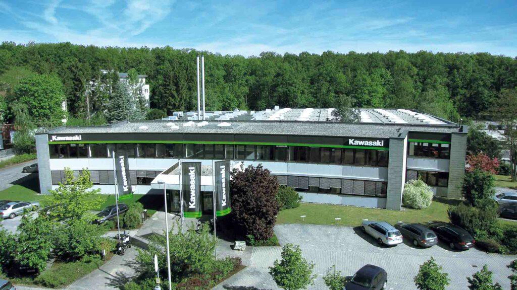 Kawasaki Firmengebäude