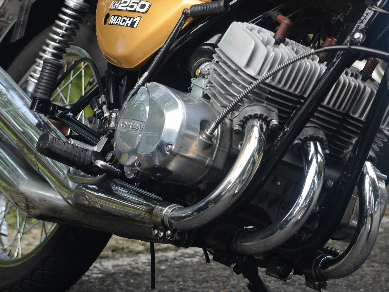 Kawasaki Kh Cafe Racer