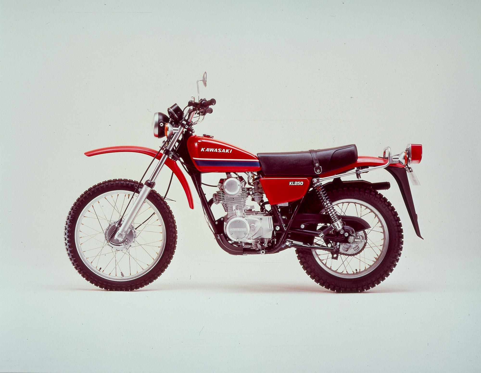 Kawasaki KL 250 von 1978