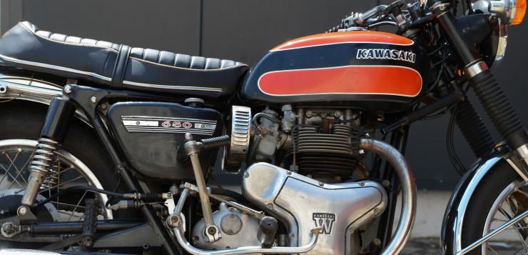 Kawasaki W1 650 Motor