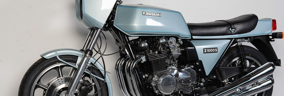 Kawasaki Z1R 1000 – Typ mit Ecken und Kanten