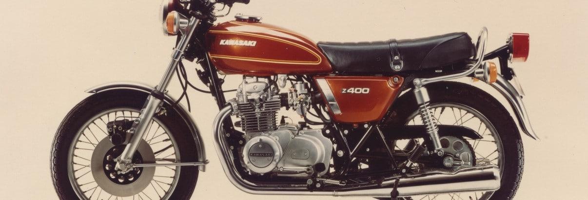 "Kawasaki Z 400 – ""Halb-Vier"""