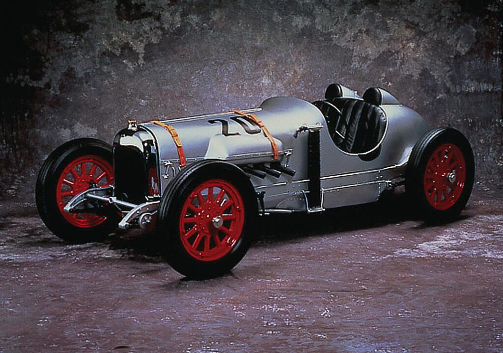 """Den Curtiss Racer baute Soichiro Handa während seiner Ausbildung gemeinsam mit """"Art Shokai"""""""