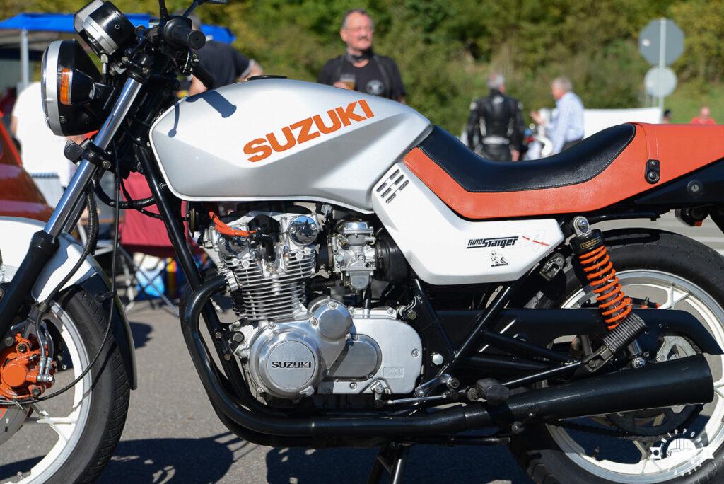 Technisch basierte die Katana auf der Suzuki GS 550 E