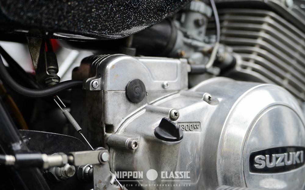 Trotz hoher Literleistung gilt der Motor der Suzuki GT 250 als standfest