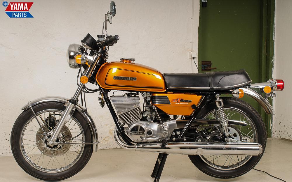 Top restaurierte Suzuki GT 250 von 1975
