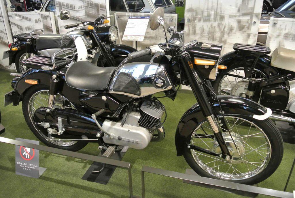 """Die """"Colleda"""" war Suzukis erster Motorrad-Meilenstein"""