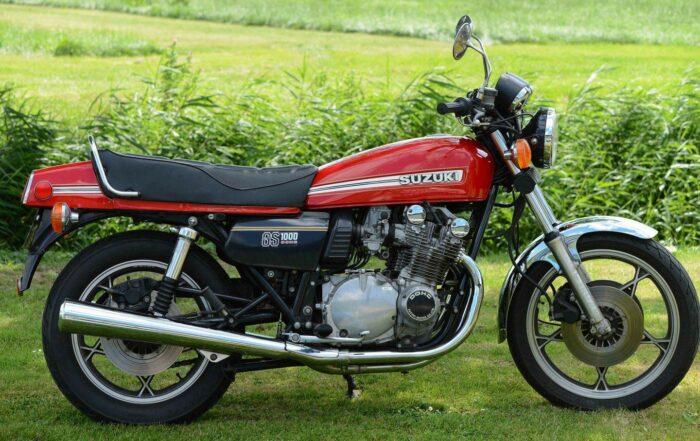 Die Suzuki GS 1000 überzeugte 1979 mit hervorragender Verarbeitungsqualität