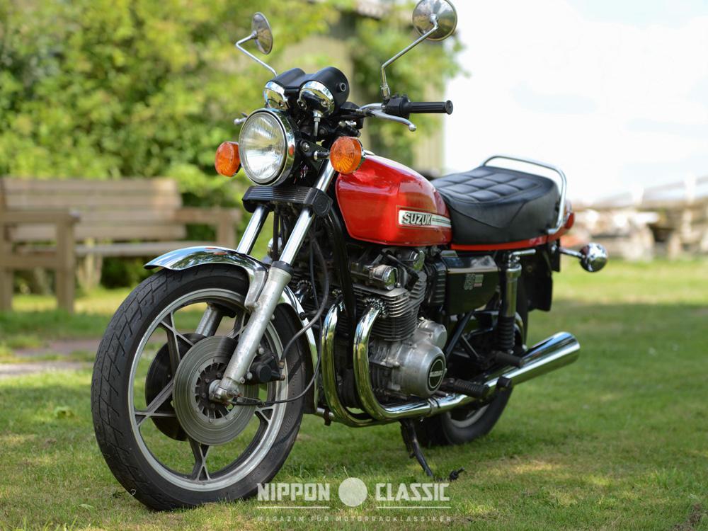 Mit der GS 1000 baute Suzuki eines der besten Motorräder vor 40 Jahren