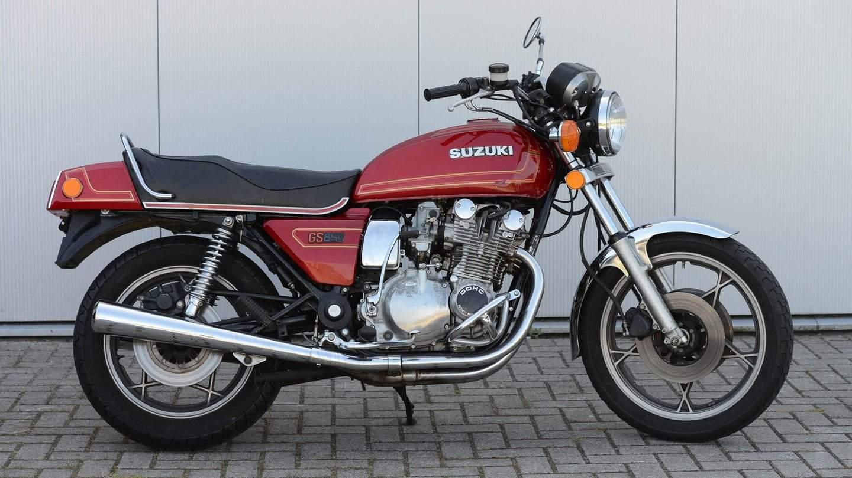 Suzuki Gs 850 G 1978 1986 Dickschiff Mit Kardanantrieb Motorcycle Custom Die Kam Auf Den Markt Quelle