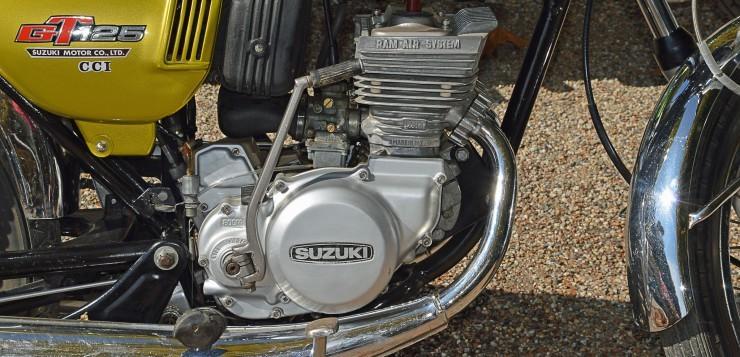 Suzuki GT 125 Motor