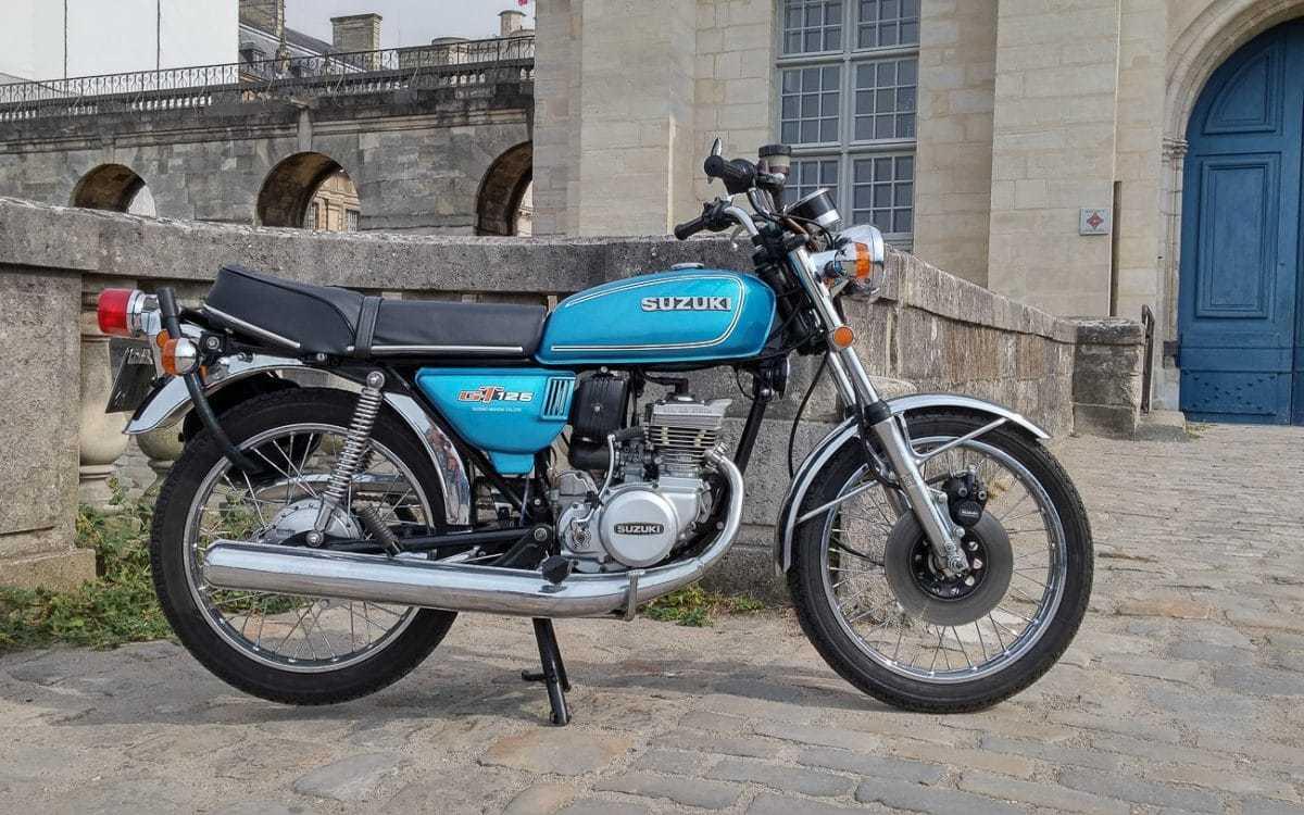 Suzuki gt 125 1974 1978 wieselfkinkes zweitakt for Yamaha suzuki of texas