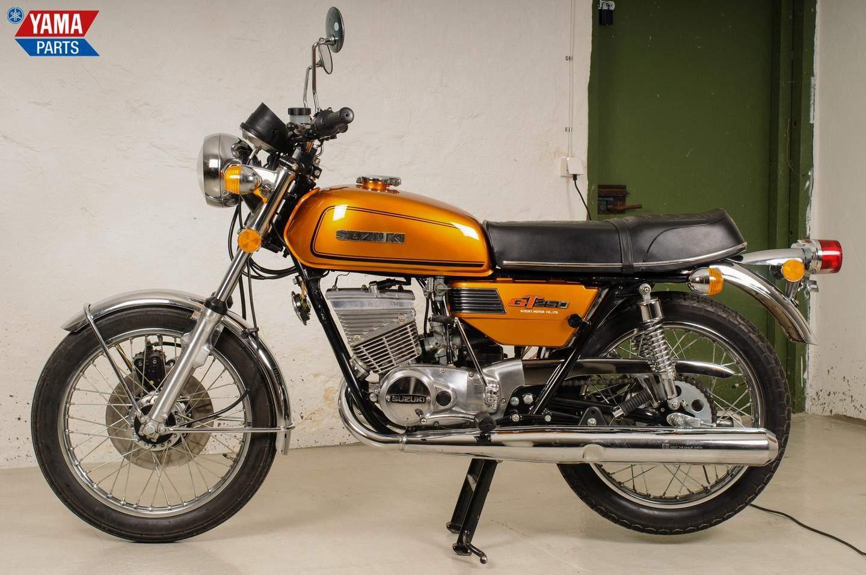 Suzuki gt 250 197 1977 zweitakt sportskanone mit for Yamaha suzuki of texas
