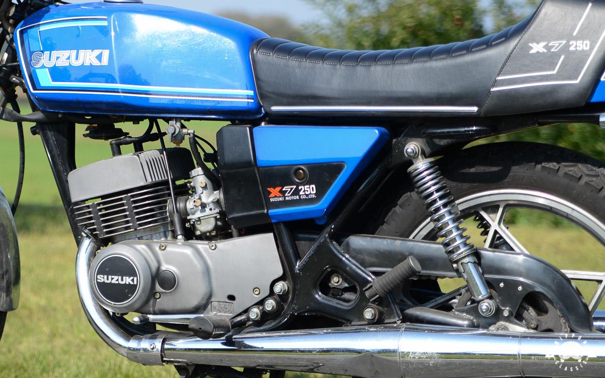 Suzuki GT 250 X7 (1978-1981) - Suzuki mit dem X-Faktor