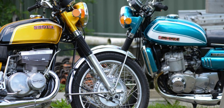 Suzuki GT750 Wasserbüffel