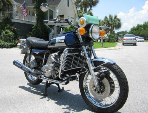 Suzuki RE 5 Rotary – Exot mit Wankelmotor