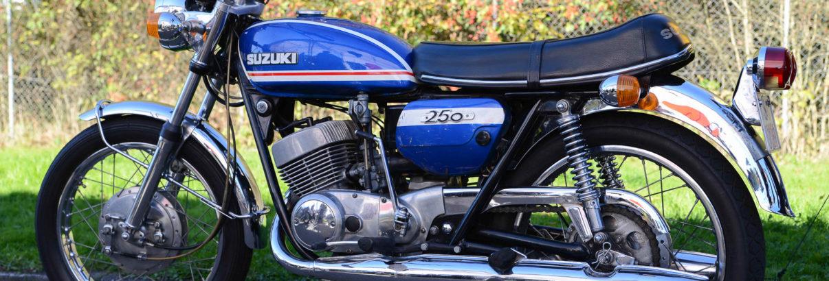 Suzuki T 250 Hustler – Zweitauflage des Straßenrenners T 20