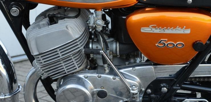 Suzuki T 500 Motor