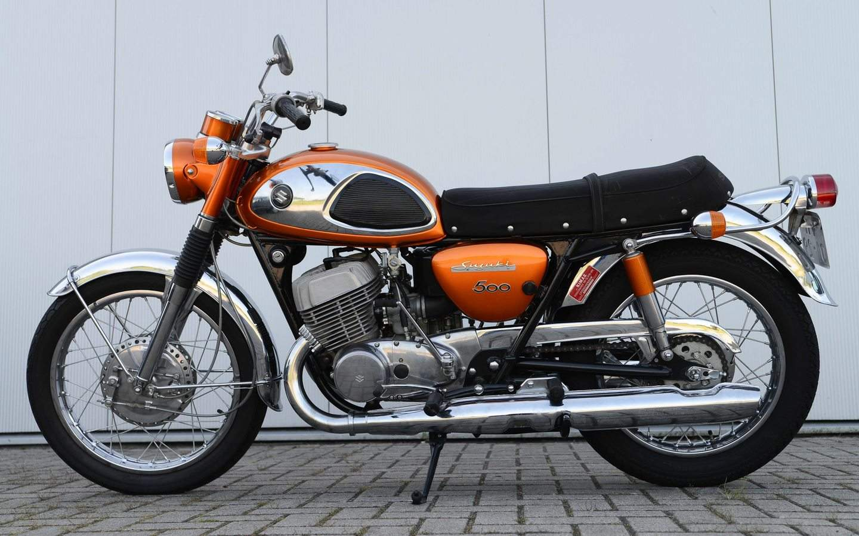Suzuki t 500 titan 1967 1975 amerikanische for Yamaha suzuki of texas