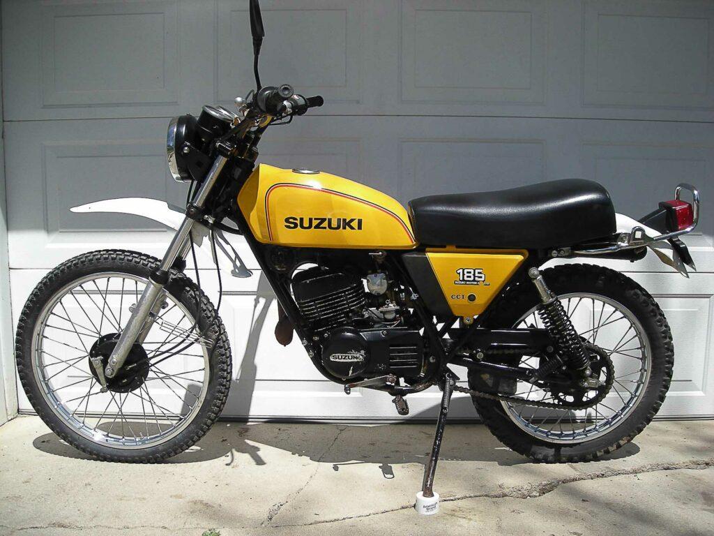 Die Suzuki TS 185 glich konstruktiv der TS 125
