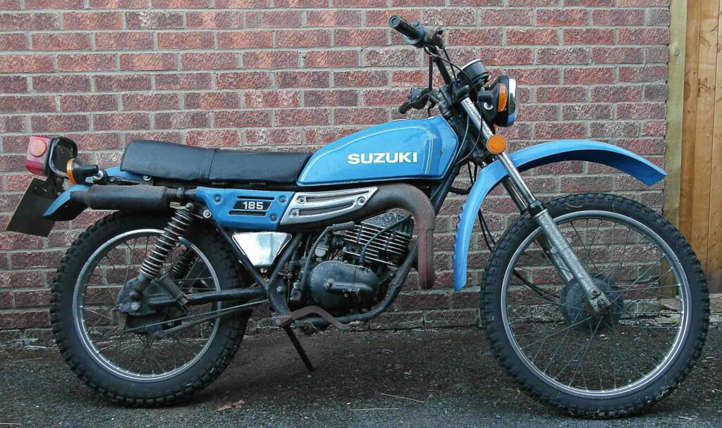Ehrlicher Kandidat fürs Gelände - Suzuki TS 185