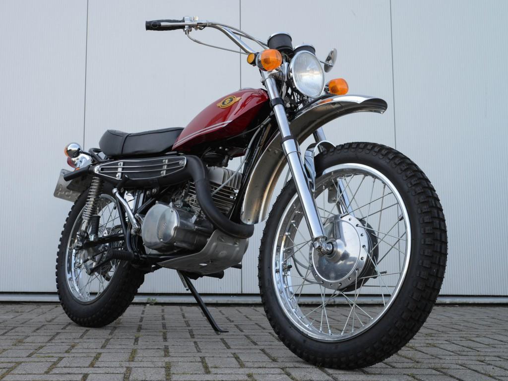 Die Suzuki TS250 debütierte 1969