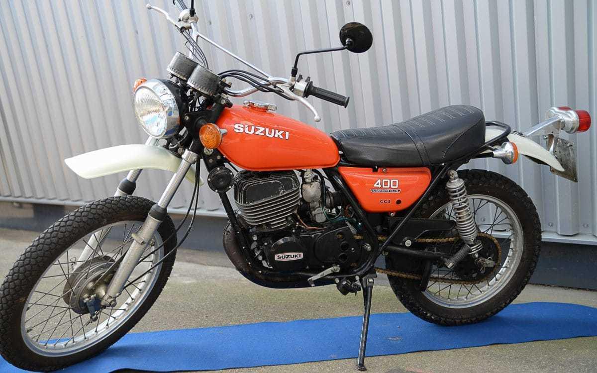 Suzuki ts 400 apache 1972 1977 h uptling zweitakt enduros for Yamaha suzuki of texas
