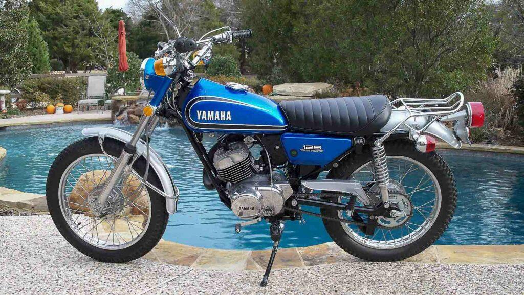 Die Yamaha AT 125 kam 1969 auf den Markt