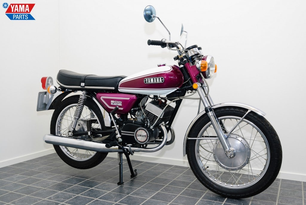 Yamaha RD 200 (1973 bis 1980)