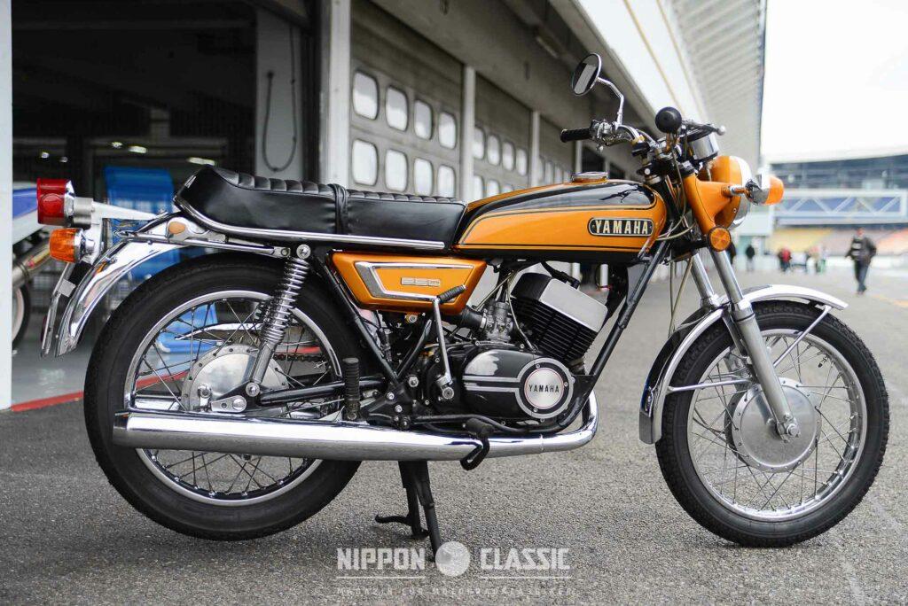 Die Yamaha DS7 war die Vorgängerin der RD250