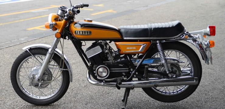 Yamaha DS7 / RD 250