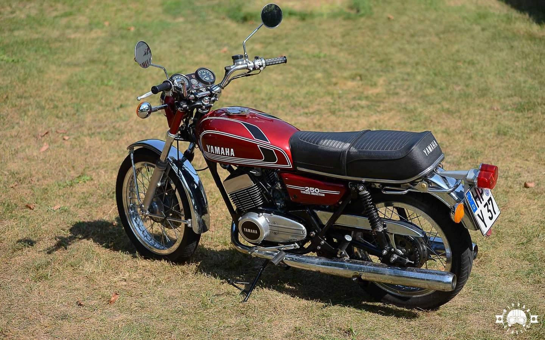 Yamaha Rd 250 1973 1979 Modern Und Fast Unverwüstlich
