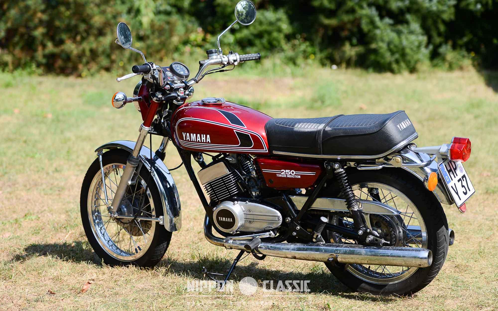 Luftgekühlte Yamaha RD 250