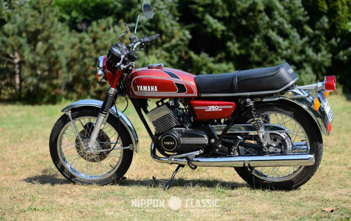 Luftgekühlte Yamaha RD 350