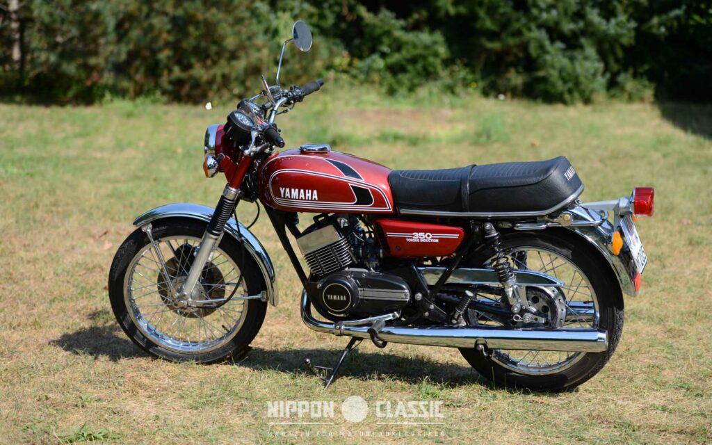 Die 18-Zoll-Räder wurden von der Yamaha R5 übernommen