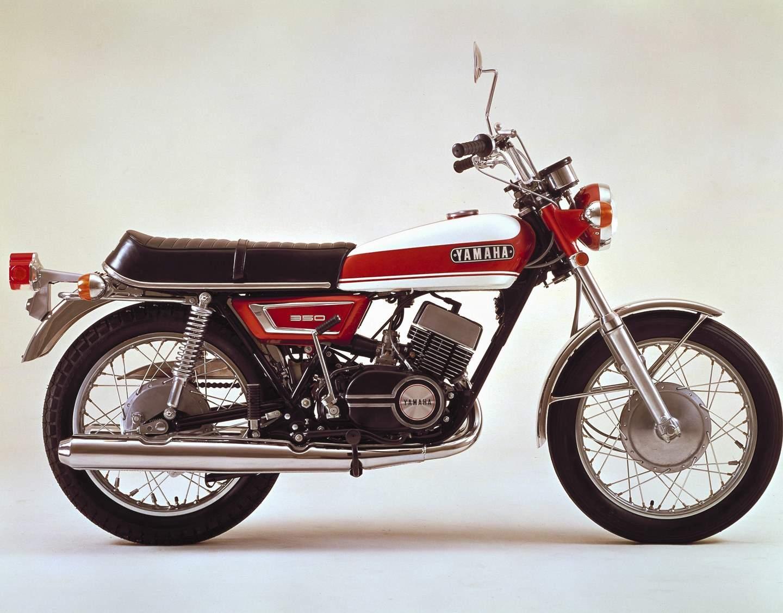 Yamaha Rd 350 Rd 400 1973 1979 Motorradtraum Der 1970er