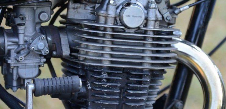 SR 500 Motor