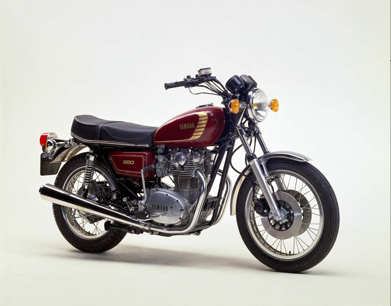 Yamaha xs 650 1974 1984 die japanische bonneville for Yamaha suzuki of texas