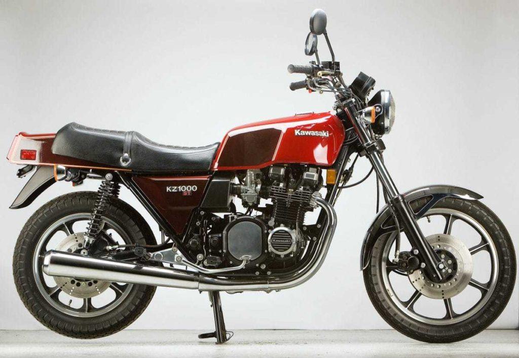 Die Kawasaki Z 1000 ST mit Kardanantrieb
