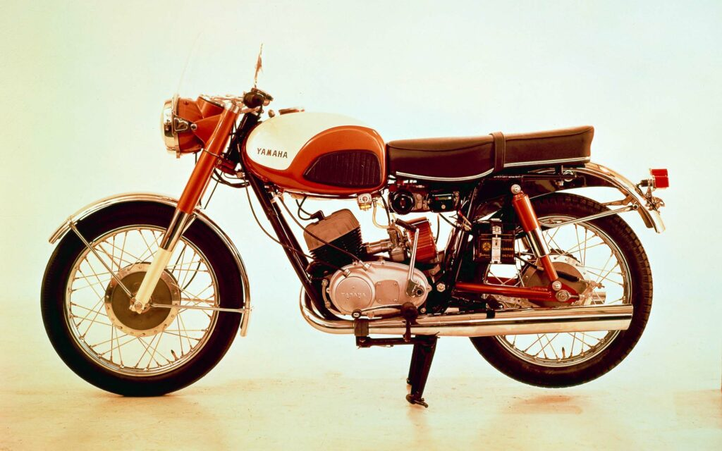 Yamaha YDS1 von 1959