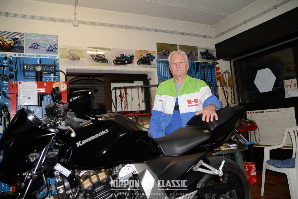 Kawa-Toni ist seit Jahrzehnten mit Kawasaki eng verbunde