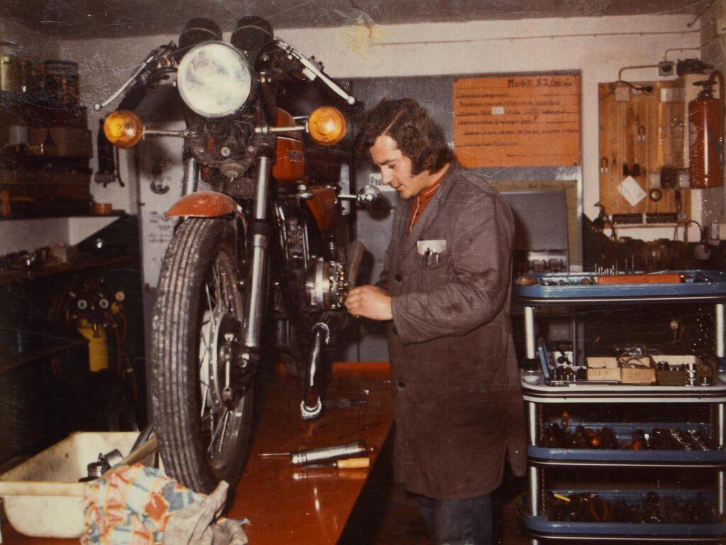 Anton Wolf in den 1970er Jahren