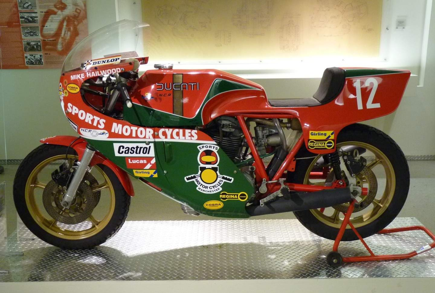 Ducati Hailwood Cafe Racer